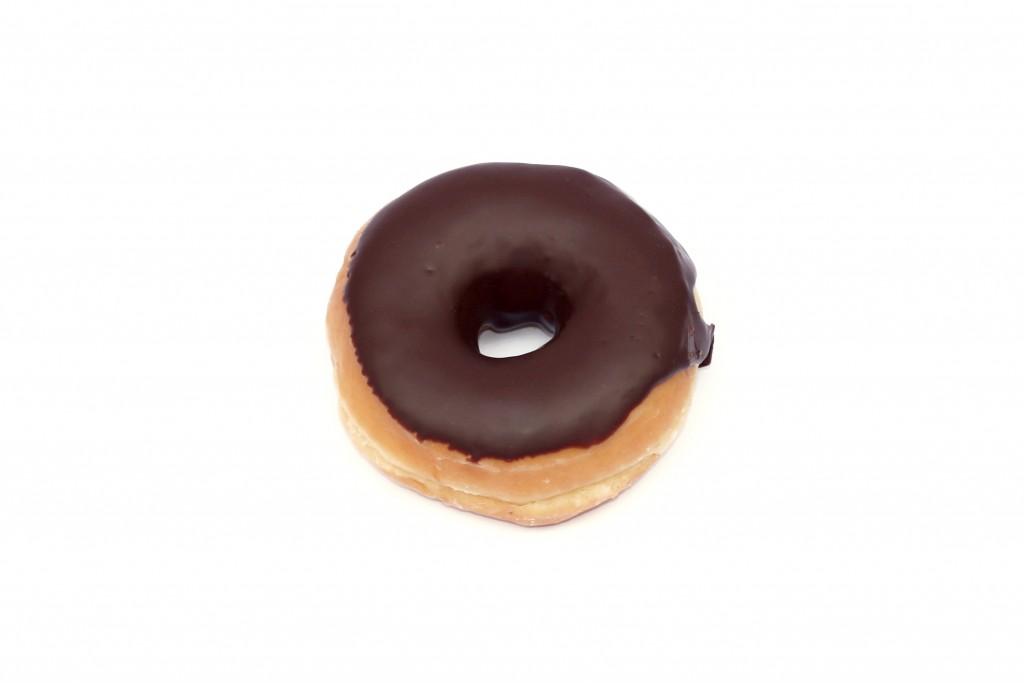 Donut de chocolate Servicio de reparto de pan y bolleria a domicilio